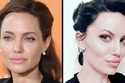 Angelina Jolie and Melissa Baizen