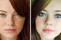 Emma Stone and her random look-alike